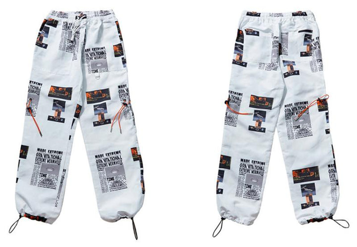 Men's Summer Casual Joggers With Print