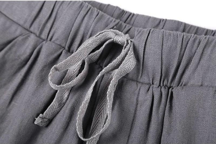 Men's Summer Casual Loose Linen Pants