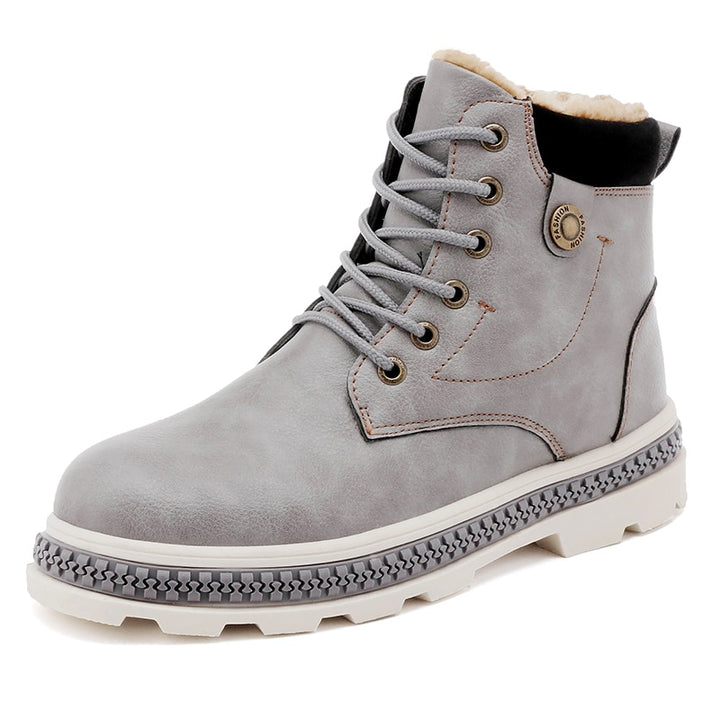 Men's Winter Casual Warm Ankle Boots
