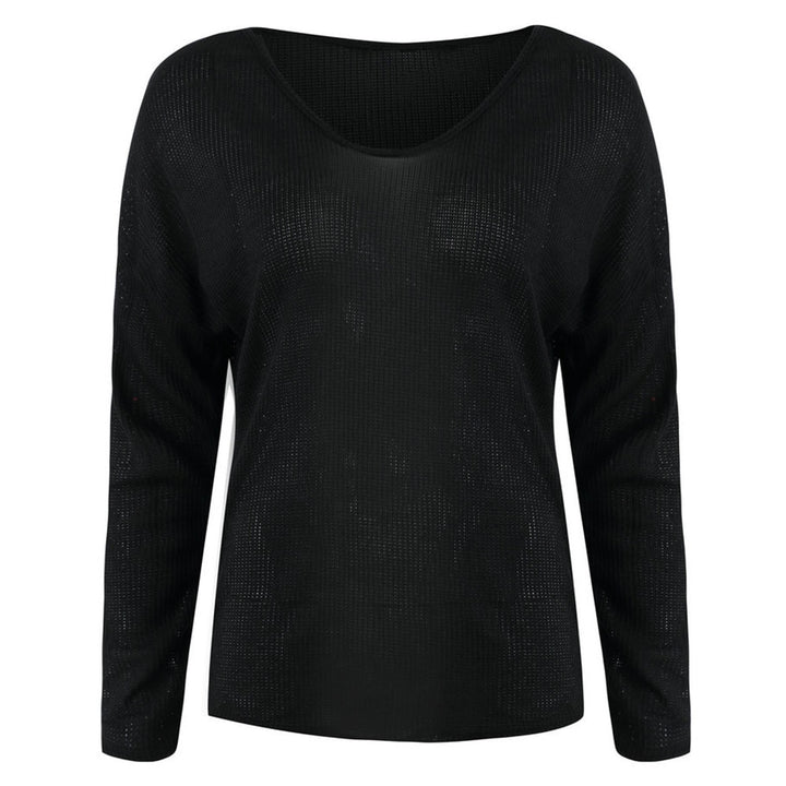Women's Winter Casual V-Neck Sweater