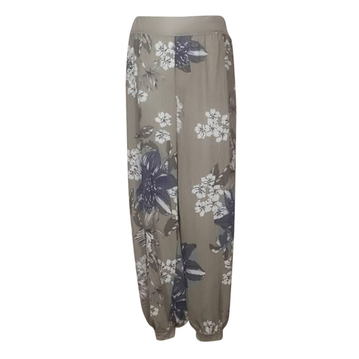Women's Casual Harem Pants With Print