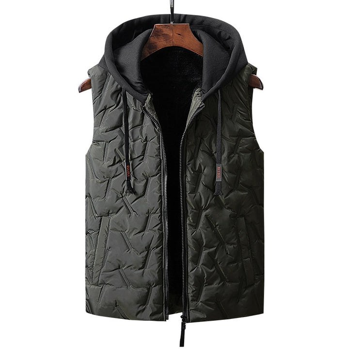 Men's Winter Hooded Vest