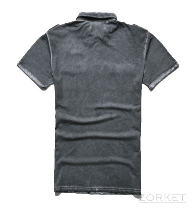 Men's Summer Polo With Short Sleeve - Zorket
