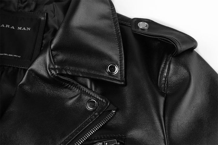 PU Leather High Quality Warm Men's Jacket - Zorket