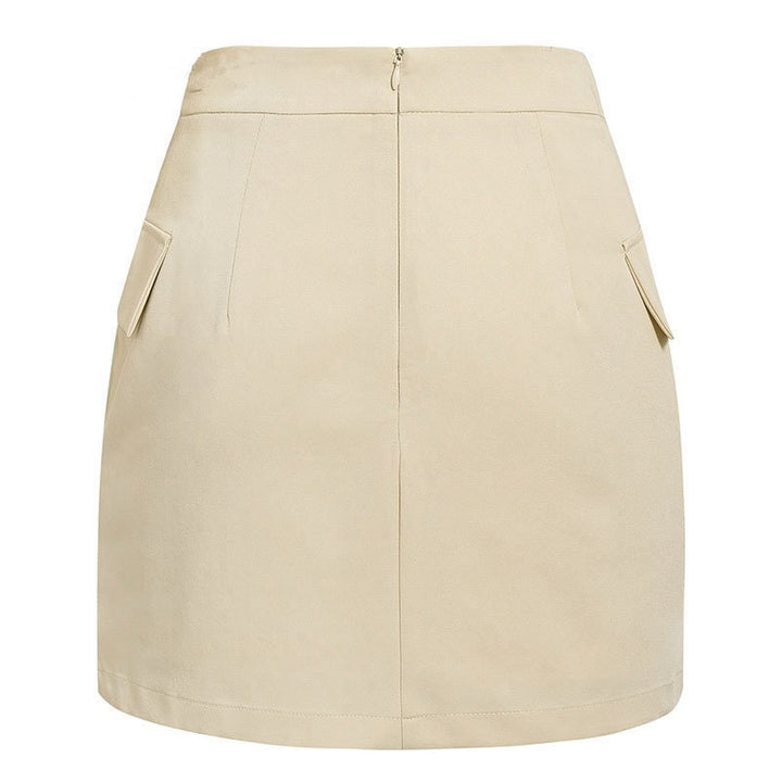 Women's Summer High-Waist A-Line Short Skirt