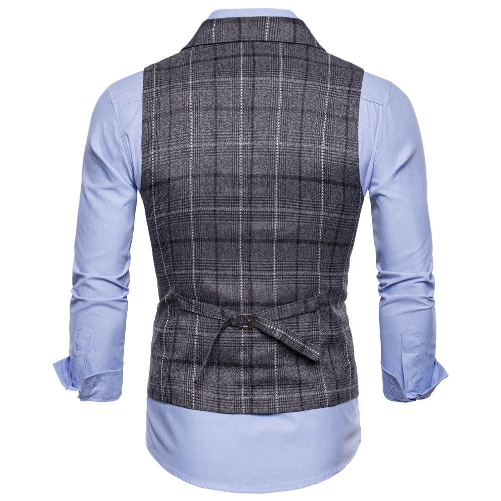 Men's Casual Single Breasted Vest