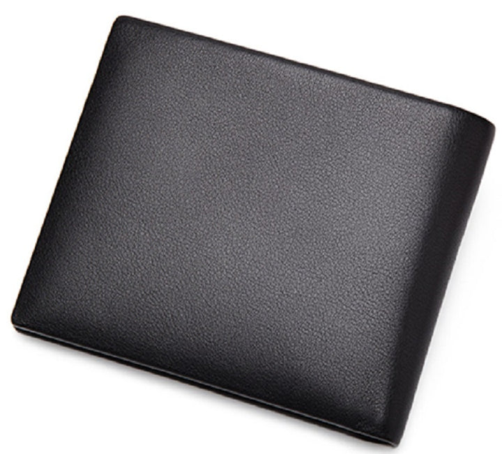 Men's Genuine Leather Short Wallet