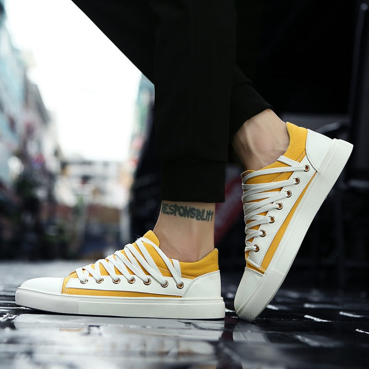 Men's Casual Breathable Canvas Shoes