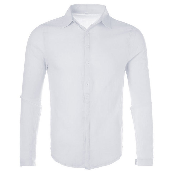 Men's Сasual Linen Breathable Shirt