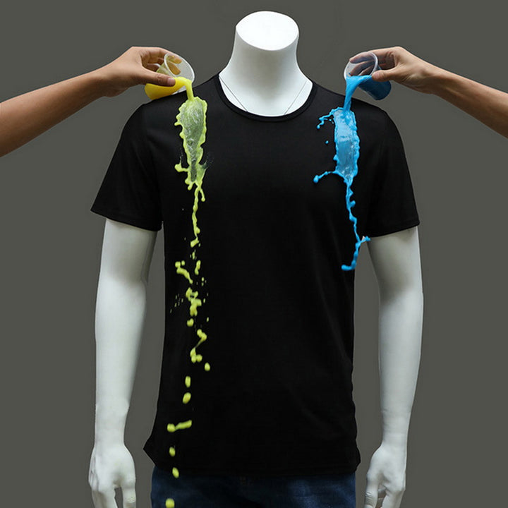 Men's Summer Casual Waterproof Breathable T-Shirt