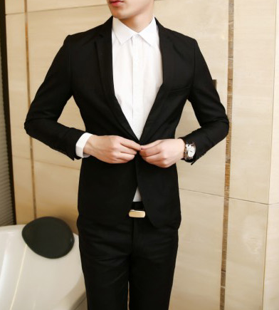 Men's Gentleman Business Suit ( Jacket, Pants ) - Zorket