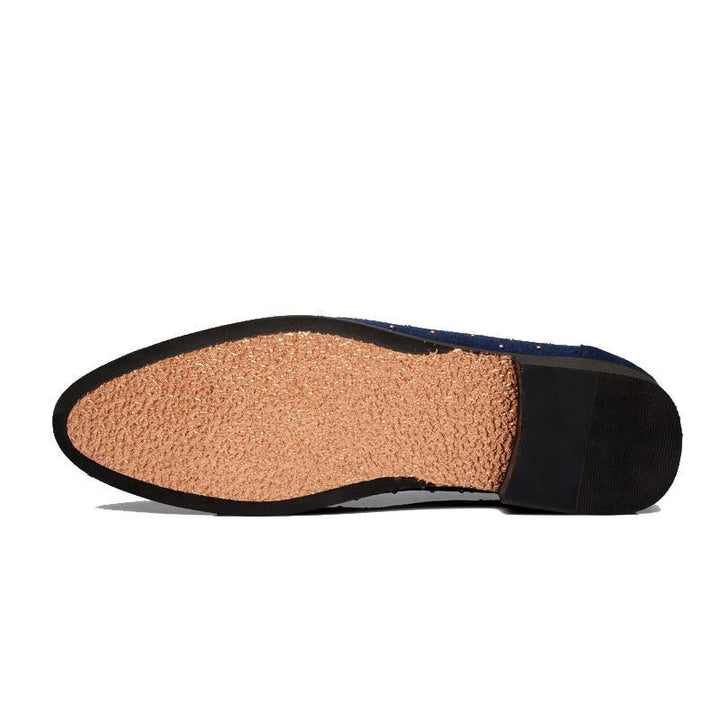 Men's Casual Leather Slip-Ons