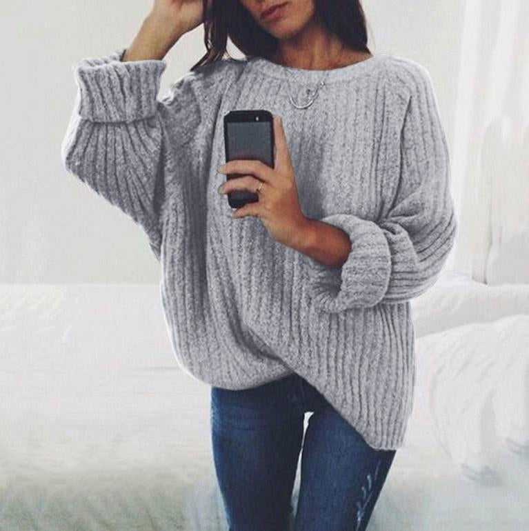 Women's Autumn/Winter Loose Casual Knitted Pullover