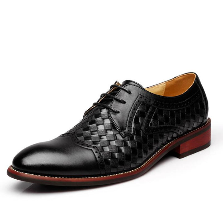 Men's Casual Breathable Leather Oxfords