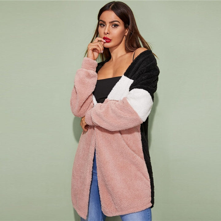 Women's Autumn Casual Stretchy Long-Sleeved Cardigan