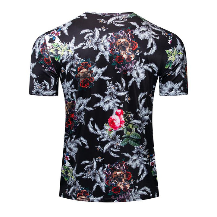 Men's Summer Casual T-Shirt With Print