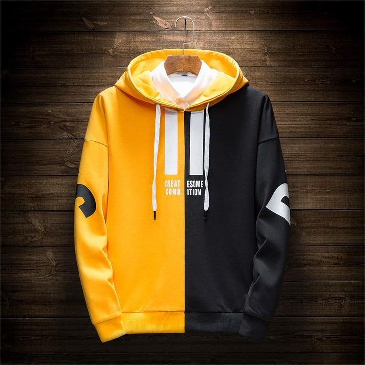"Men's Autumn Casual Hooded Sweatshirt ""Create Some Condition"""