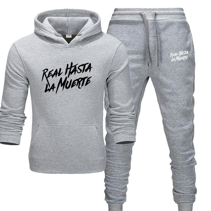 Men's Autumn/Winter Tracksuit | Hoodie And Pants