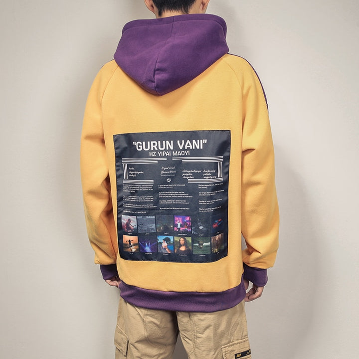 Men's Winter Hooded Sweatshirt
