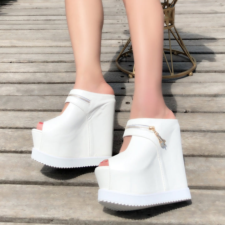 Women's Summer Sandals With High Platform