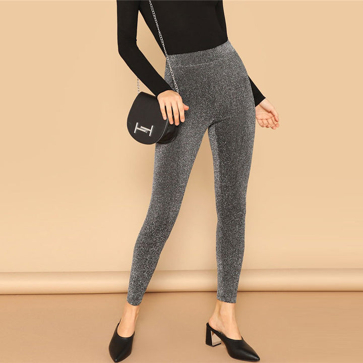 Women's Casual Elastic Stretchy Leggings