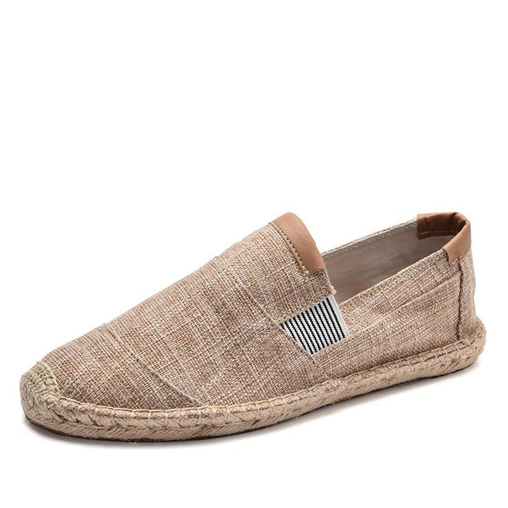 Men's Casual Breathable Canvas Slip-Ons