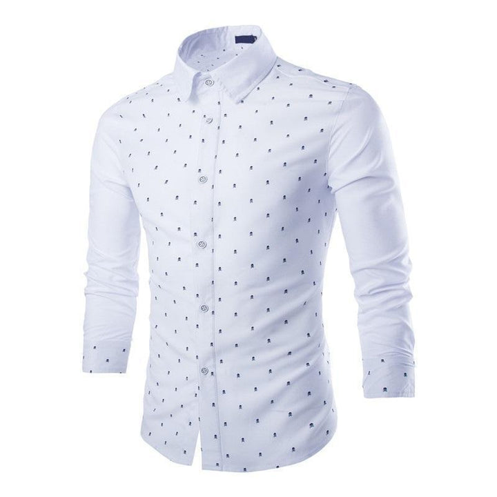Men's Summer Casual Cotton Long Sleeved Shirt | Plus Size