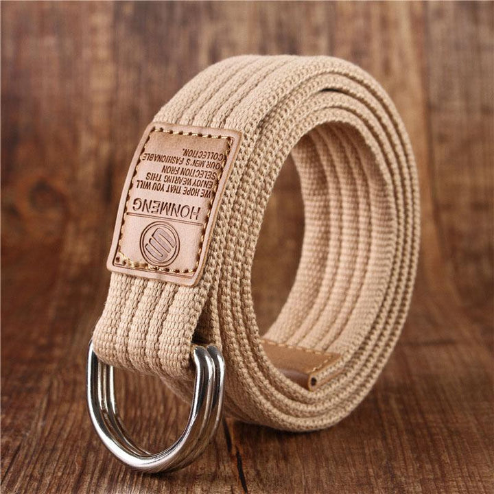 Men's Casual Canvas Belt