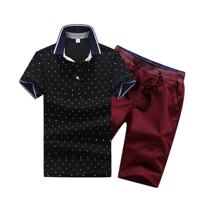 Men's Summer Tracksuit | Polo And Shorts