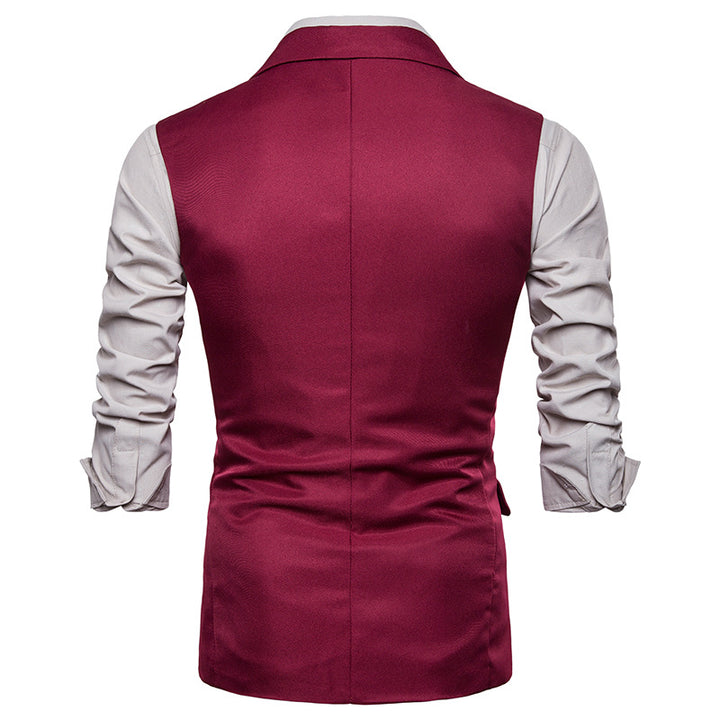 Men's Casual Solid Colored Vest