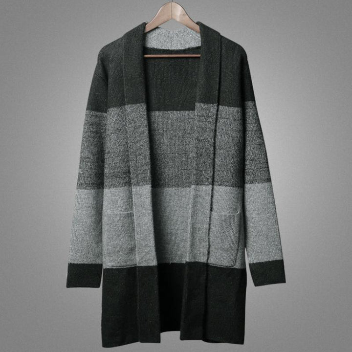 Men's Autumn/Winter Casual Woolen Knitted Cardigan