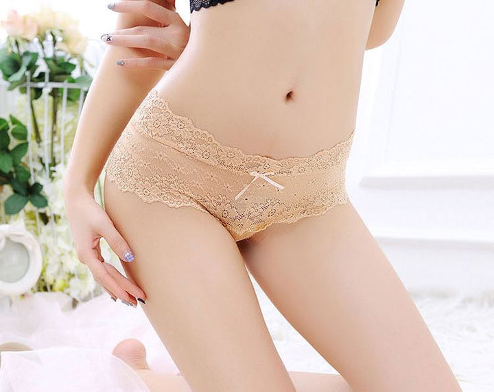 Women's Lace Low Rise Panties