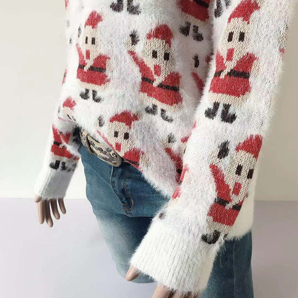 Women's Autumn/Winter O-Neck Knitted Sweater
