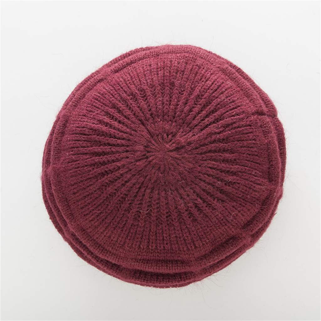 Women's Winter Casual Knitted Woolen Hat