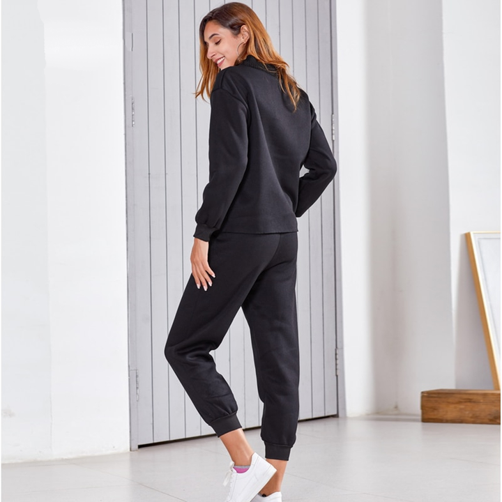 Women's Spring/Autumn Casual Two Piece Suit