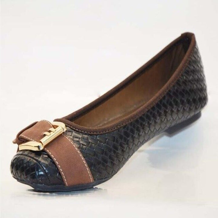 Women's Spring/Autumn Casual Flats With Buckles