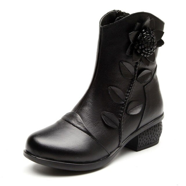 Women's Winter Casual Genuine Leather Boots
