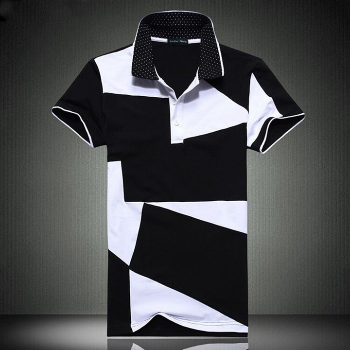 Men's Summer Casual Cotton Short Sleeve Polo | Plus Size