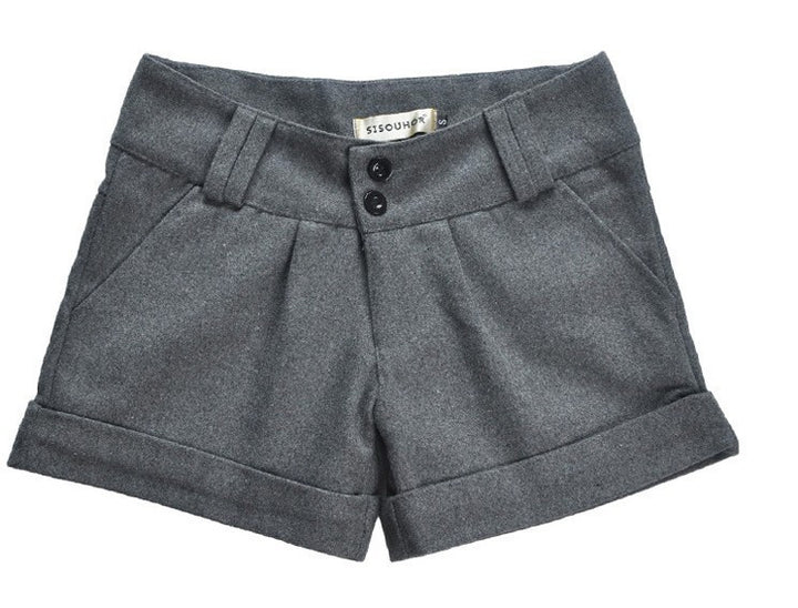 Female Casual Turn-Up Shorts - Zorket