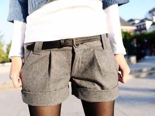 Female Casual Turn-Up Shorts
