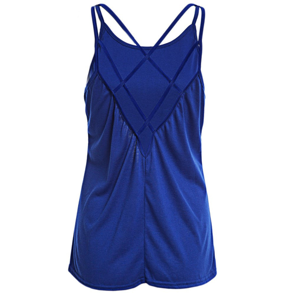 Women's Casual Strappy Top - Zorket
