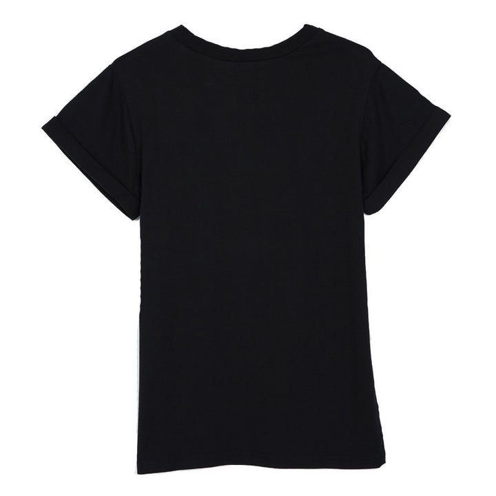 Female Casual T-Shirt With O-Neck - Zorket