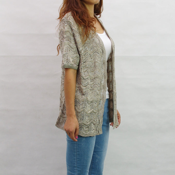 Spring & Summer Knitted Women's Cardigan - Zorket