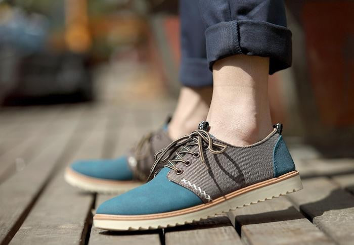 Flats – Breathable Lace-Up Men's Flats | Zorket