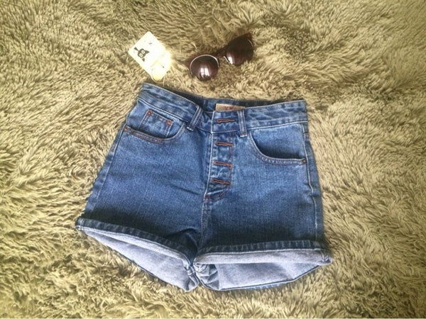 Denim Shorts – Women's Casual Loose Denim Shorts | Zorket