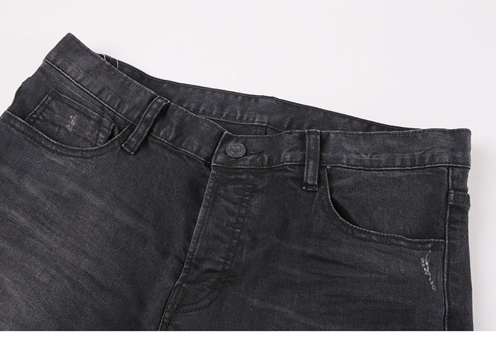 Men's Autumn/Winter Slim Straight Stretch Jeans
