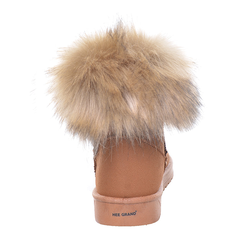 Women's Winter Warm Thick Fur Snow Ankle Boots