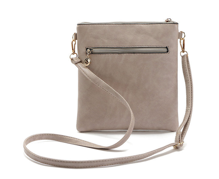 Small Casual Women's PU Messenger Crossbody Bag - Zorket