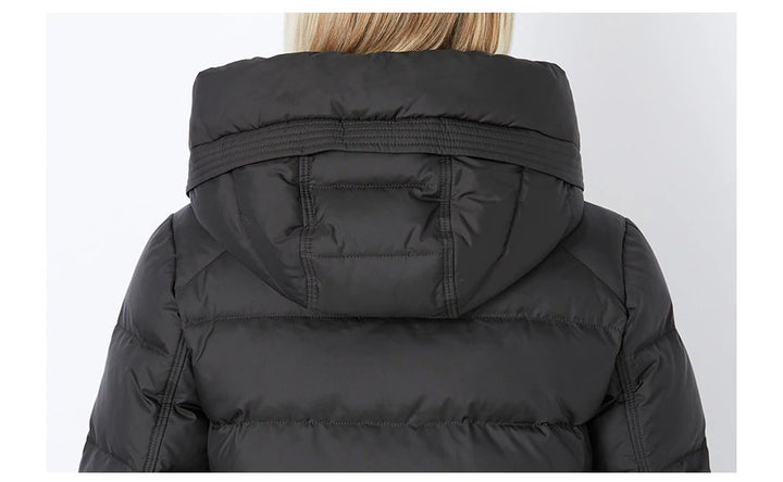Women's Winter Thick Warm Hooded Parka