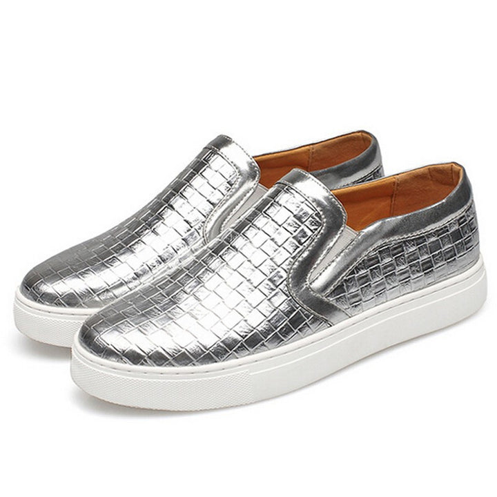 Men's Plaited Casual Slip-On - Zorket